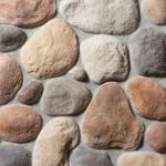 Boulder Creek Stone 8 lineal  ft River Rock Minnesota Blend Corner Rock