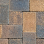 Borgert 4 in. x 6 in. Cobble Series™ Minnesota River Pavers