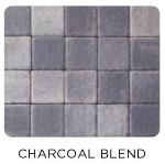 WILLOW CREEK LRG CIRCLE CHARCOAL BLEND 6.84/SF