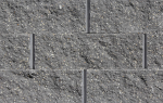 Rockwood Classic® 6 Charcoal Straight Face Block