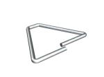 4 in. Hot Dipped Galvanized Triangle Tie - (250/Box)
