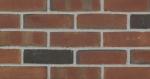 Glen-Gery 53-DD 3-5/8 in. x 2-1/4 in. x 8 in. Sand Molded Standard Burgundy Facebrick