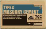 TCC (SP) 75# MASONRY CEMENT TYPE S 100917