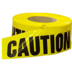 Grip-Rite 3 in. x 1000 ft Yellow Caution Tape