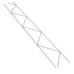 12 in. 9 ga x 9 ga Mill Galvanized Steel 120 Truss-Mesh
