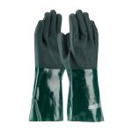 14 in. ProCoat Green Gauntlet PVC Dipped Glove
