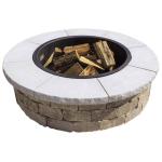 Limestone Grand Fire Ring Cap