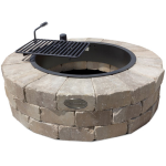 Necessories' Santa Fe Grand Fire Ring Kit with Swivel Cooking Grate