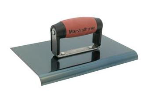 MARSHALLTOWN 9 in. x 6 in. x 3/8-in. x 1/2-in. Straight End Hand Edger Model# 164BD