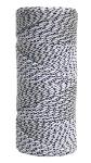 500 ft White & Black Bonded Braided Nylon Line Model BC352