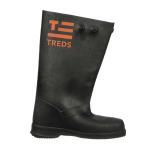 Sz M TREDS Black Rubber Over-the-Shoe Boots Model# 17851