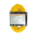 50 ft Polar Solar™ 12/3 SJEOOW 3 Prong Outdoor Extension Cord