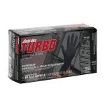Black Ambi-dex Turbo Disposable Nitrile Glove with Textured Grip – (100/box) Model 63-732PF