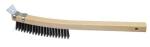 Curved Wire Scratch Brush with Scraper Model# WS883SC