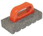8 in. x 3-1/2 in. 20 Grit Silicon Carbide Rub Brick with Handle Model# CF268