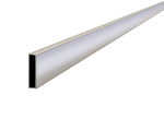 14 ft x 1-1/2 in. x 3-1/2 in. Extru-Lite™ Magnesium Screed Model# CC614