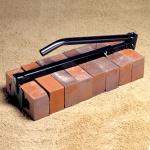 Adjustable Heavy-Duty Black Brick Tongs Model# BC384