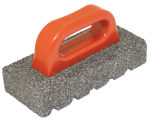 6 in. x 3 in. 60 Silicon Carbide Grit Rub Brick with Handle Model# CF282