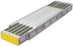 Folding Mason's Ruler (1/16ths, both edges, outside) Model# 80001