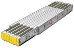 Folding Modular Spacing Ruler (1/16ths, both edges, outside) Model# 80010