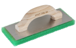 12 in. x 4 in.  x 3/4-in. Green Coarse Texture Float with Wood Handle Model# PL601