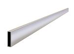 20 ft x 1-1/2 in. x 3-1/2 in. Extru-Lite Magnesium Screed Model# CC620