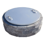 Grand & Grand Gas Fire Ring Steel Cover
