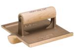 6 in. x 4-1/2 in. Narrow Bit Bronze Groover with Wood Handle Model# CF305