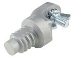 Aluminum Fresno Trowel Bracket Adapter Model# CC662