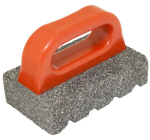 6 in. x 3 in. 20 Silicon Carbide Grit Rub Brick with Handle Model# CF283