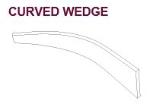 EDMAR WEDGE - CURVED