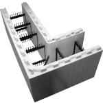 Fox Blocks  6 in. Insulated Concrete Formation 90 Degree Corner Block