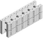 Fox Blocks 6-in. Insulated Concrete Formation Straight Block