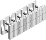 Fox Blocks 8 in. Insulated Concrete Formation Taper Top Block