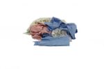 RAGS 25# BOX NEAR WHITE CLOTH