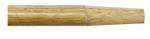 5 ft Wood Handle w/Tapered Wood Tip Model# HD60T