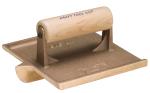 6 in. x 4-1/2 in. Deep Bit Bronze Groover with Wood Handle Model# CF314