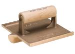 6 in. x 4-1/2 in. Big Bit Bronze Groover with Wood Handle Model# CF304