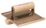 7-1/2 in. x 4-1/2 in. Deep Bit Bronze Groover with Wood Handle Model# CF317