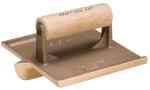 6 in. x 4-1/2 in. Denver Jumbo Bronze Groover with Wood Handle Model# CF316