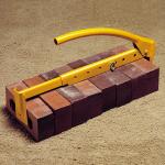 Adjustable Yellow Heavy-Duty Brick Tongs Model# BC380
