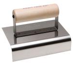 6 in. x 4 in. Stainless Steel Outside Nose Curb & Sidewalk Tool Model# CF148