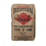 50 lb Western Miracle Type S Dolomitic Hydrated Masonry Lime