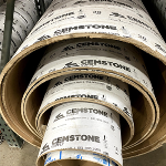 Cemstone 12 in. Concrete Form Tube, Light Wall