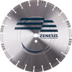 Zenesis™ 20 in. x 0.125 in. x 1 in High Speed/Masonry General Purpose Diamond Blade