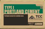 TCC (MF) 92.6# PORTLAND CEMENT TYPE I BOM100908