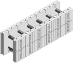 Fox Blocks 12 in. Insulated Concrete Formation Straight Block