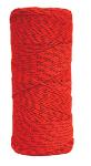 500 ft Orange and Black Bonded Braided Nylon Line Model BC353