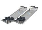 28 in. x 8 in. Lightweight Stainless Steel Knee Boards (Pair) CC162