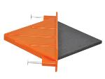 QuicDiamond 1/4-in. Flat Plate Dowel Model# QD-258P